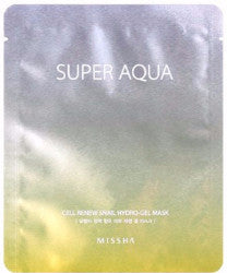 Missha Super Aqua Cell Renew Snail Hydro Gel Mask - Missha Portugal
