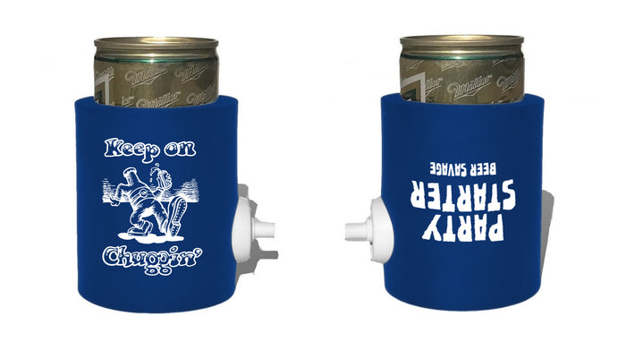Keep on Chuggin Party Starter - Royal Blue