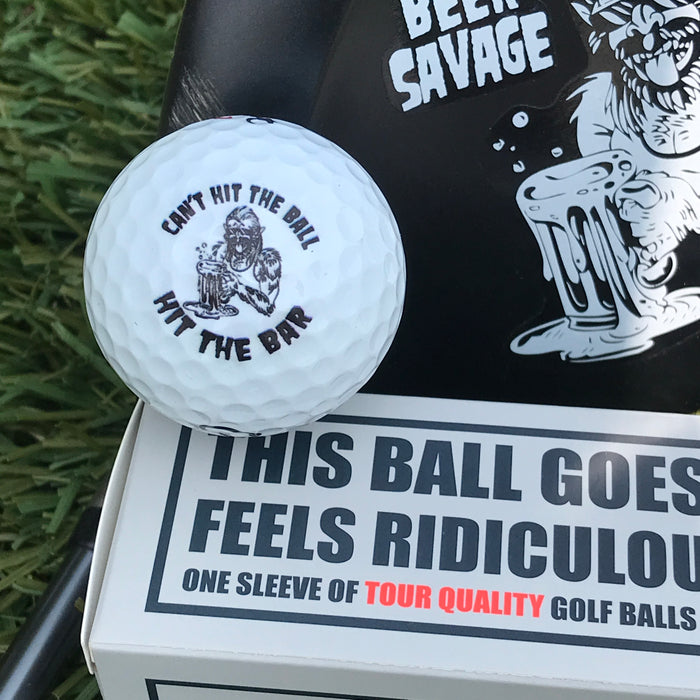 Hit the Bar - Golf balls