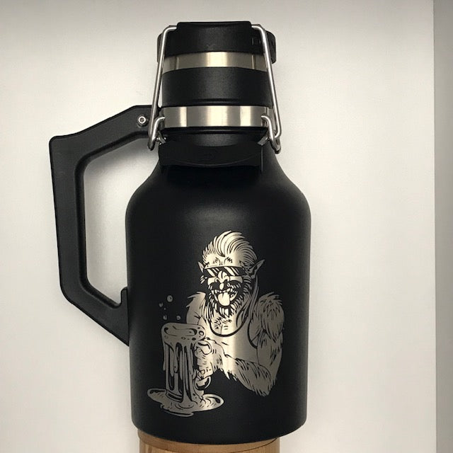 Beer Savage 32 oz growler