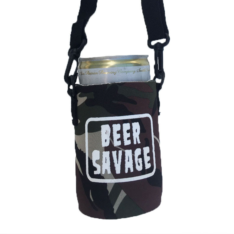 Patched Leisure Koozie - Camo