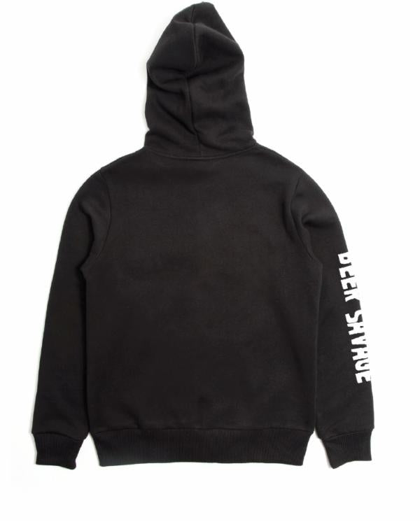 Savage Sleeve Hooded Pullover Fleece