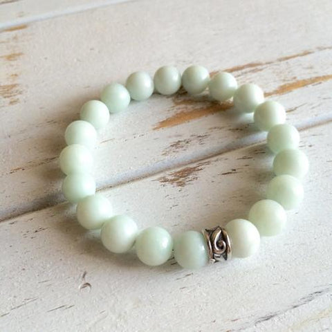 Image of Amazonite Bracelet ~ Good Fortune