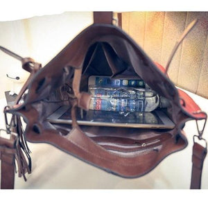 Women's Bucket Vintage Messenger Bag