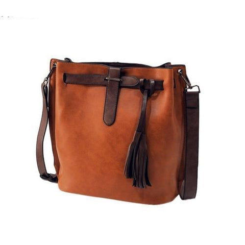 Bags & Wallets - Women's Bucket Vintage Messenger Bag