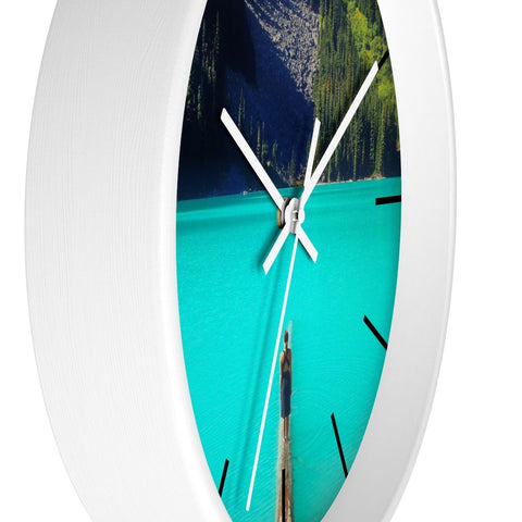 Home Decor - Lake Wall Clock