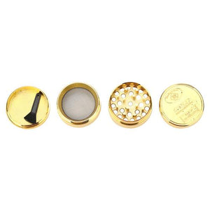Tobacco Herb Spice Grinder Herbal Alloy Smoke
