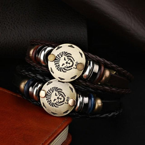 Image of Jewelry - Men's Zodiac Bracelet