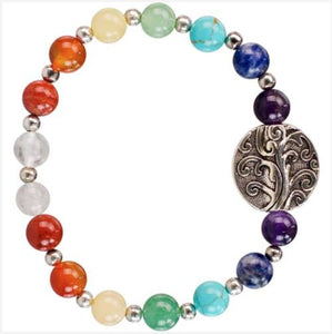 Jewelry & Watches - 7 Chakras Bracelet W/ Tree Of Life Charm