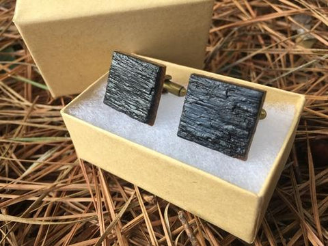Image of Jewelry & Watches - Whiskey Barrel Cufflinks