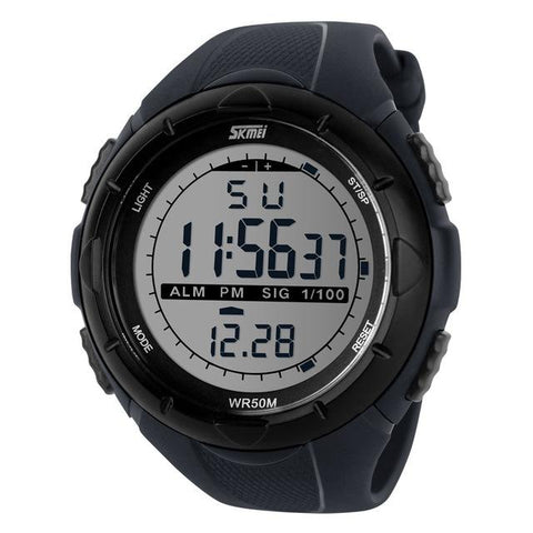 Image of Men's Big Dial Sports Digital Wristwatches
