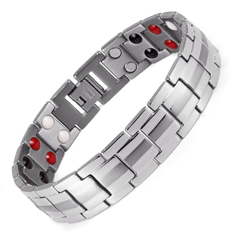 Men's Magnetic Titanium Energy Bracelet