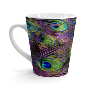 Peacock Feathers Coffee Mug