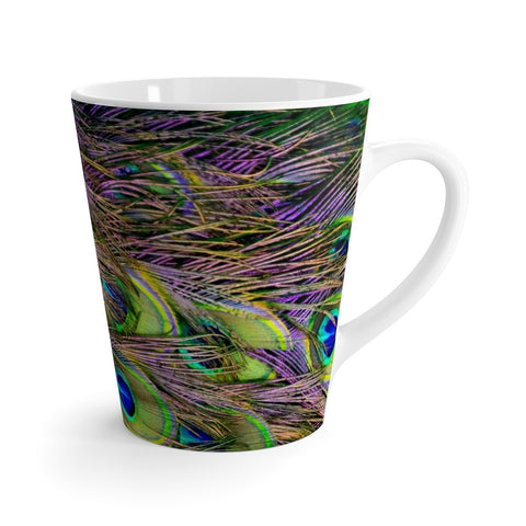 Image of Mug - Peacock Feathers Coffee Mug