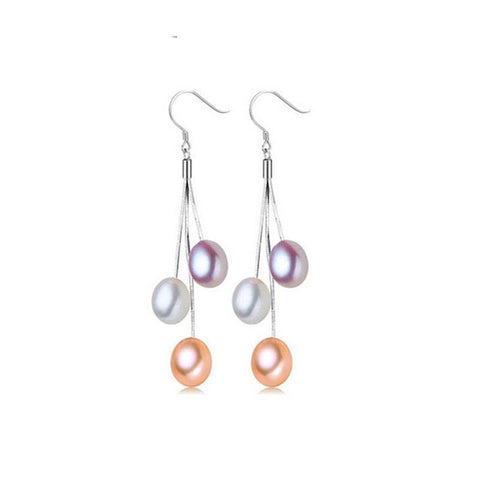 Image of Natural Freshwater Pearl Earrings