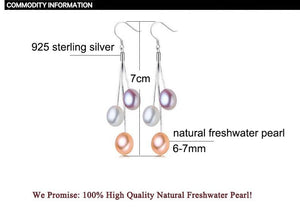 Natural Freshwater Pearl Earrings