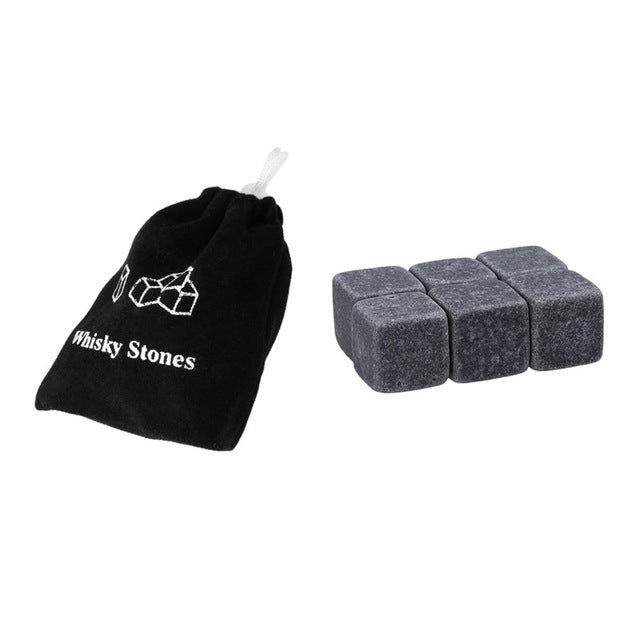 Cooling  Whiskey Stones with Pouch