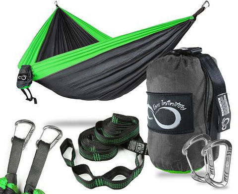 Sports & Outdoor - Double Camping Hammock With Upgraded Features