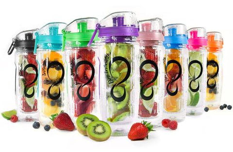 Sports & Outdoor - Live Infinitely 32oz Fruit Infuser Water Bottle
