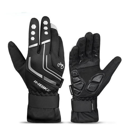 Image of Winter Gel Padded Thermal Cycling Gloves