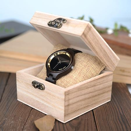 Women's Natural Wood Quartz Watch