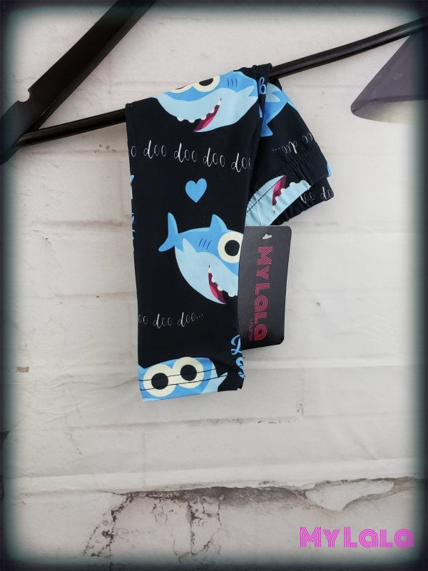 Baby Shark BABY (Premium) - My Lala Leggings, soft leggings, buttery soft leggings, one size leggings