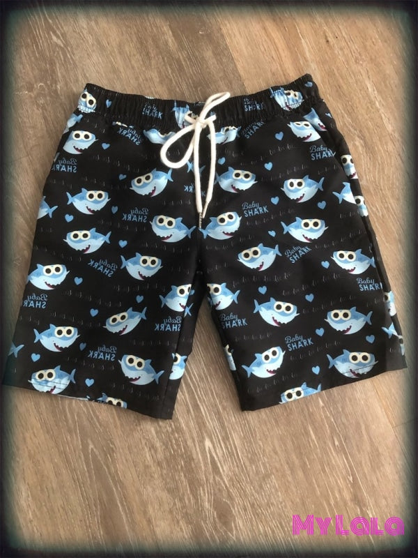 1 Baby Sharks Swim Shorts
