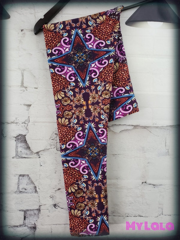 Curvy Baroque - My Lala Leggings, soft leggings, buttery soft leggings, one size leggings