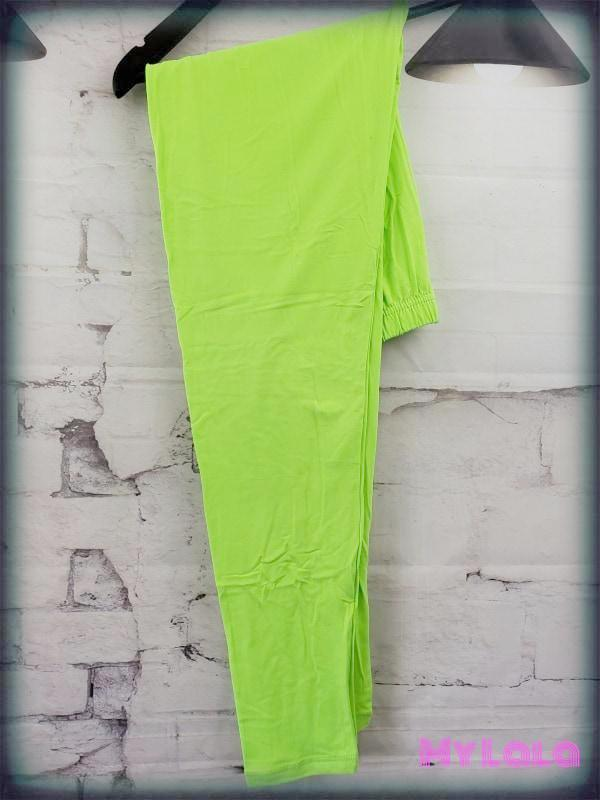 Curvy Solid Neon Green - My Lala Leggings, soft leggings, buttery soft leggings, one size leggings