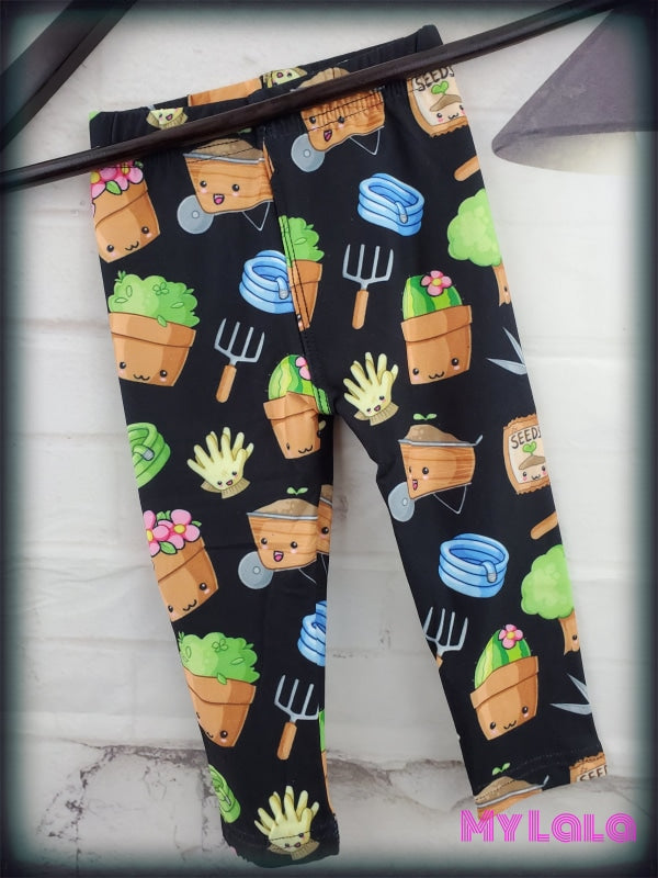 Garden Cuties Baby (Premium) - My Lala Leggings, soft leggings, buttery soft leggings, one size leggings