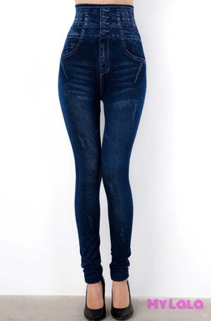1 Hj16 One Size Jeggings - High Waisted (3-12)
