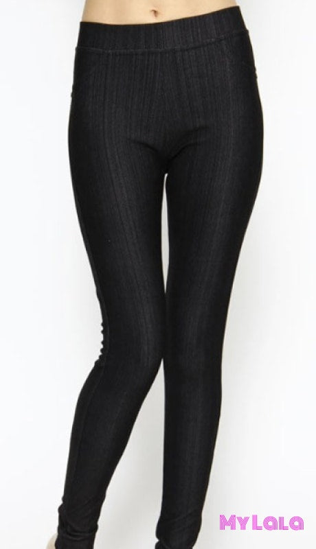 1 J04 Curvy Jeggings - Black
