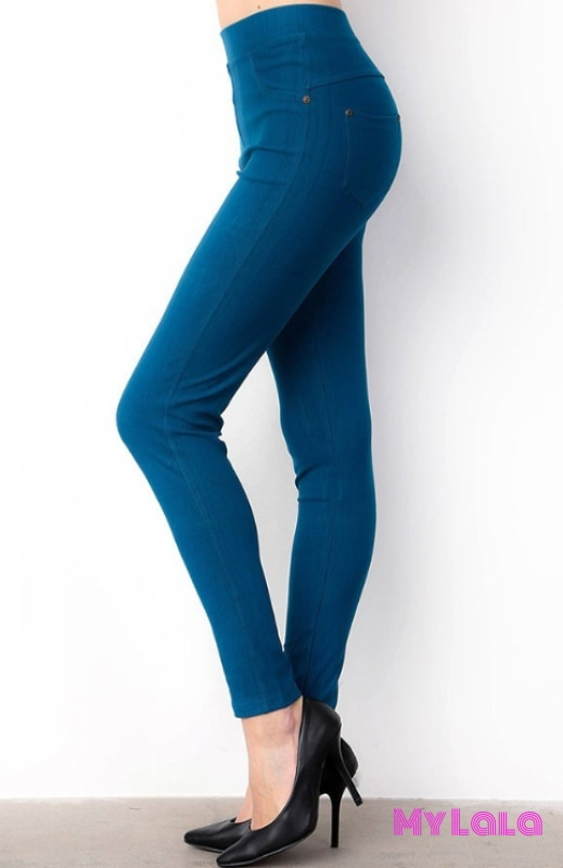 1 J04 One Size Jeggings - 3-12 (Teal)
