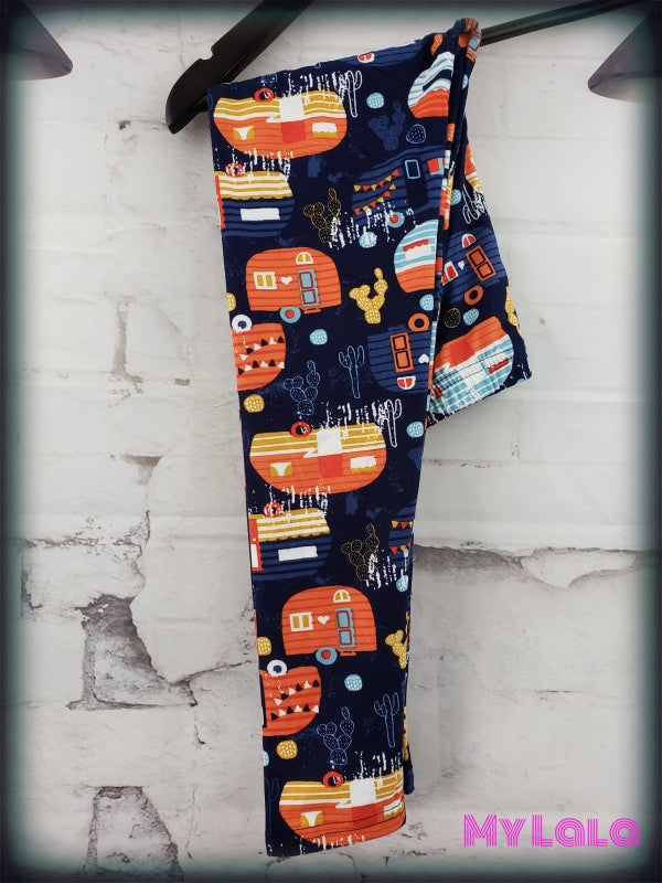 Extra Happy Trails Kids - My Lala Leggings, soft leggings, buttery soft leggings, one size leggings
