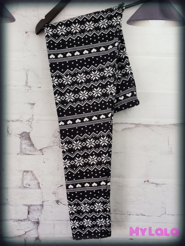 December Night OS - My Lala Leggings, soft leggings, buttery soft leggings, one size leggings