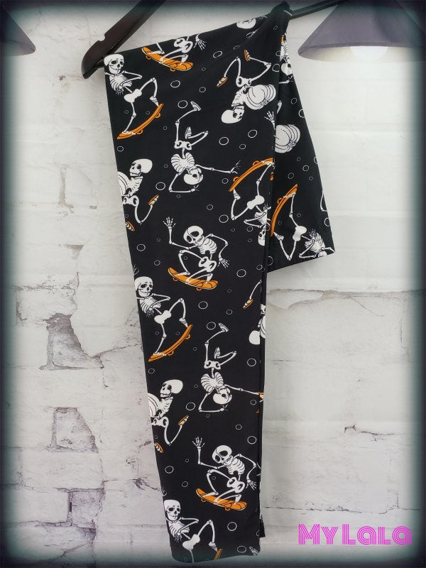 Extra Curvy Haunted Skateboard (20-26) - My Lala Leggings, soft leggings, buttery soft leggings, one size leggings