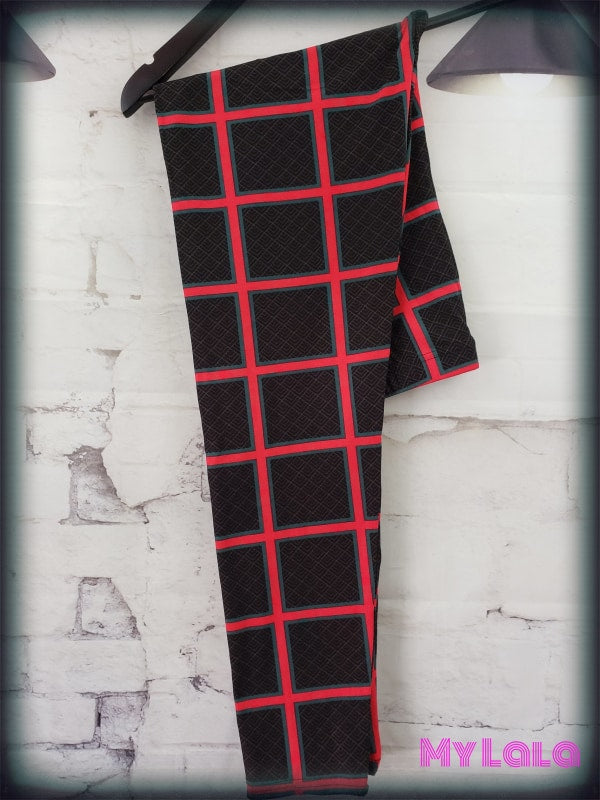 Curvy Be There or Be Square - My Lala Leggings, soft leggings, buttery soft leggings, one size leggings