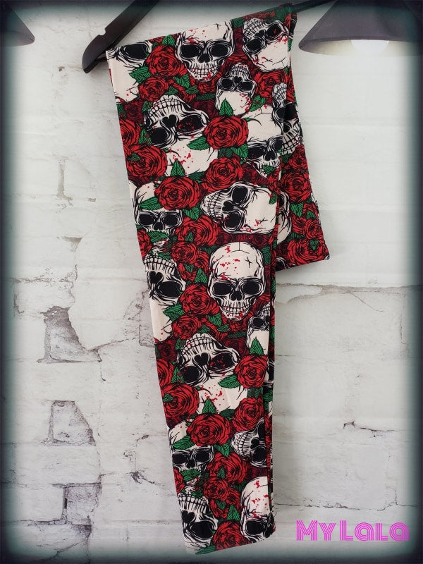 Deadly Rose OS - My Lala Leggings, soft leggings, buttery soft leggings, one size leggings
