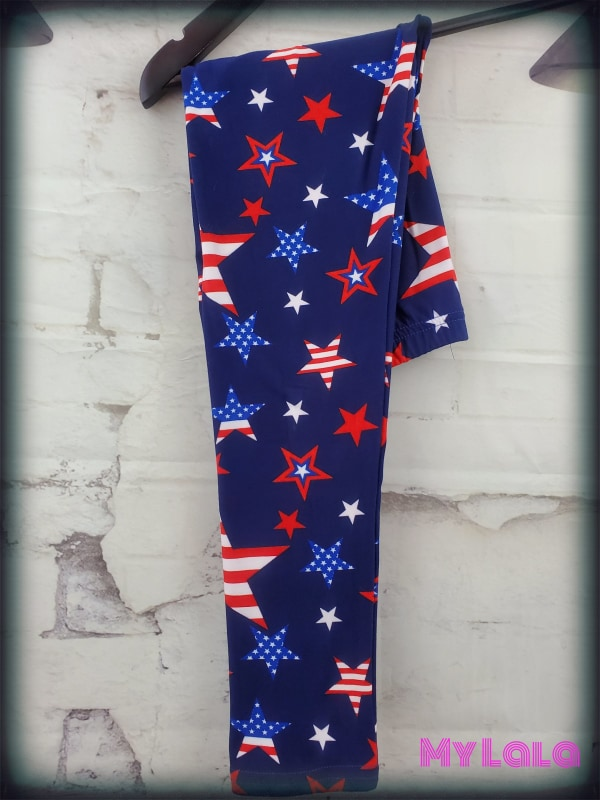 American Picnic Kids - My Lala Leggings, soft leggings, buttery soft leggings, one size leggings