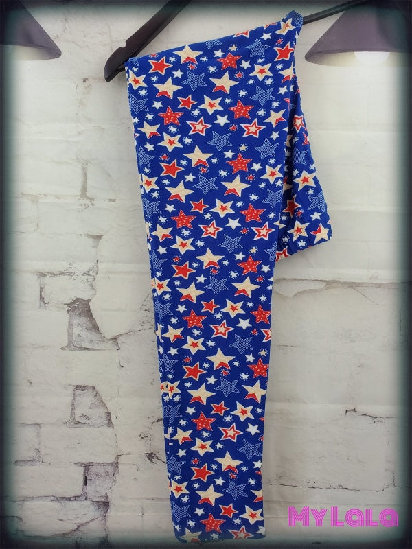 Curvy Confetti Stars - My Lala Leggings, soft leggings, buttery soft leggings, one size leggings