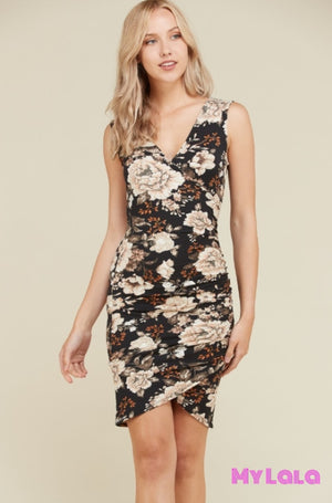1 Jd32831P Dress Sanford Sleeveless (Black)