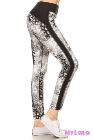 Reptile Active Wear - My Lala Leggings, soft leggings, buttery soft leggings, one size leggings