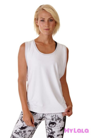 1 Kl11 Workout Top (White)