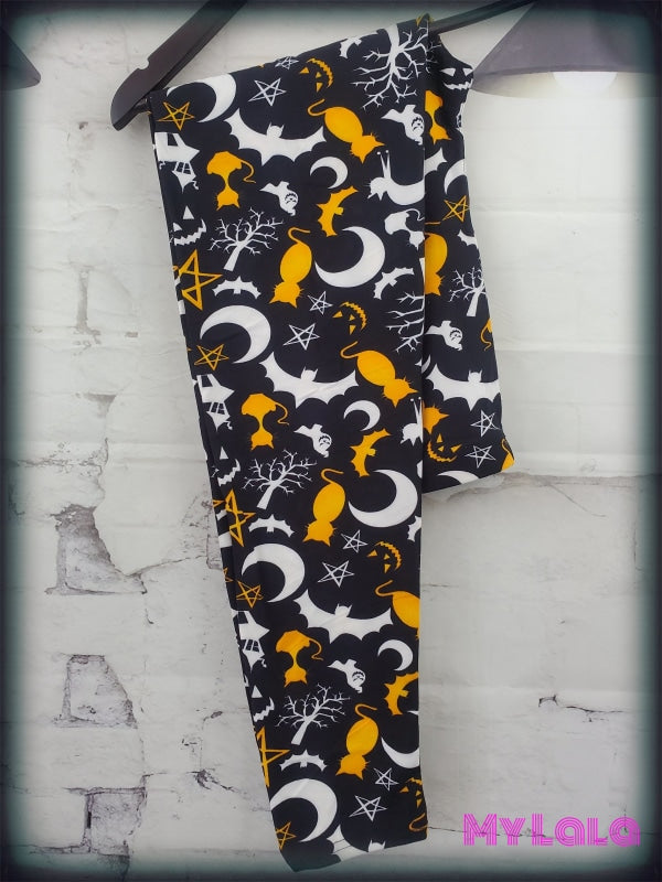 Spooky Night OS - My Lala Leggings, soft leggings, buttery soft leggings, one size leggings