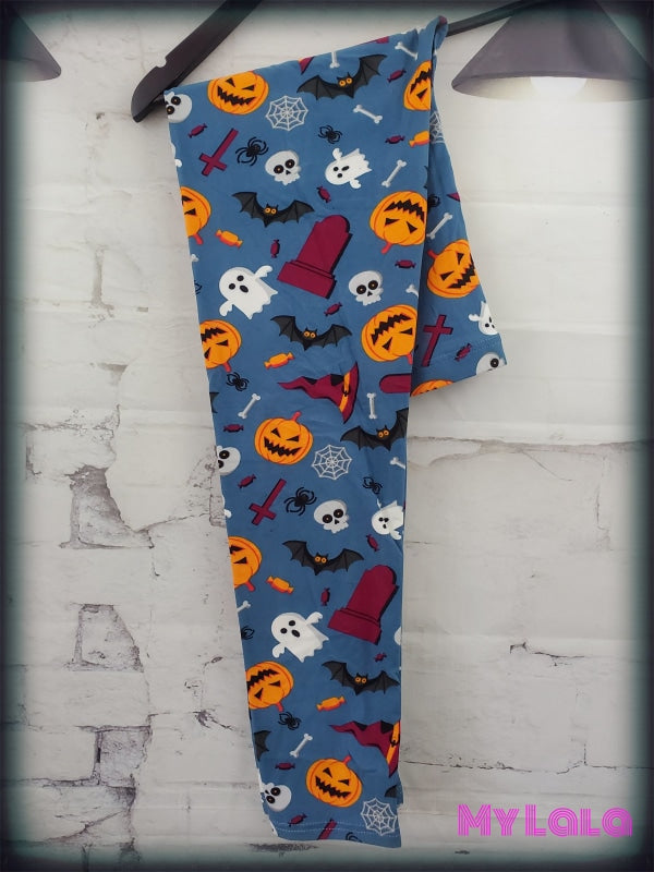 Bats & Bones OS - My Lala Leggings, soft leggings, buttery soft leggings, one size leggings