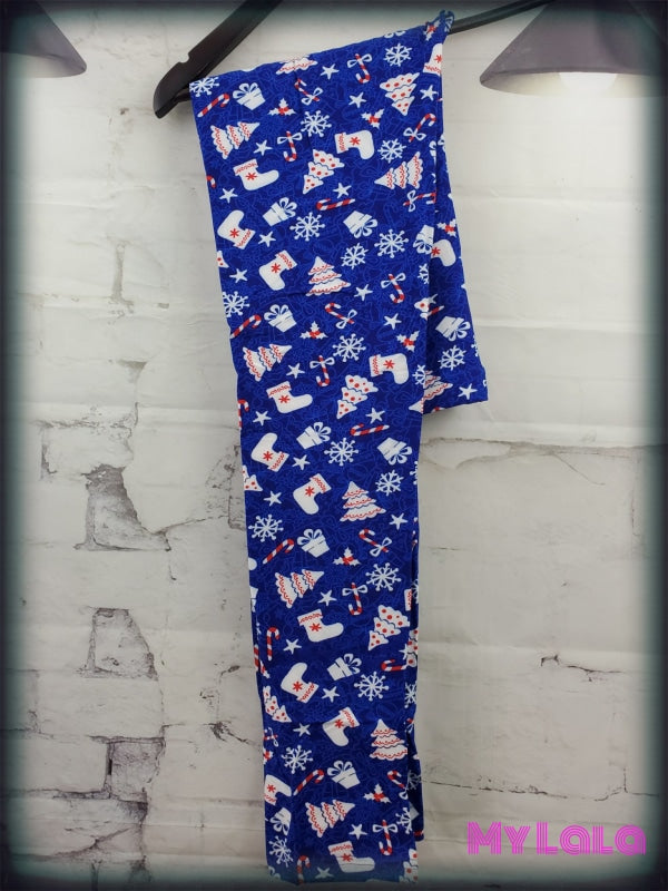 Extra Curvy Gift of Snow 20-26 - My Lala Leggings, soft leggings, buttery soft leggings, one size leggings