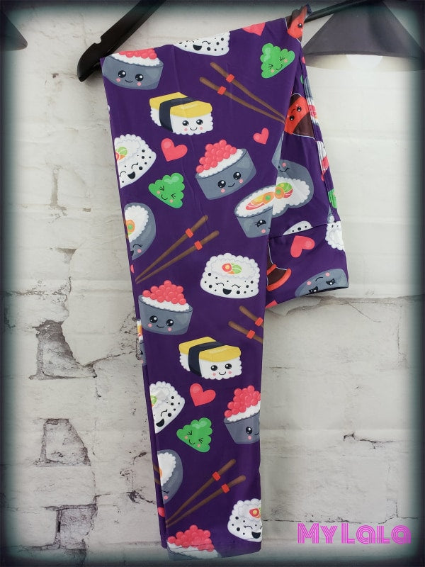 Yoga Band - Curvy Sushi (Premium) - My Lala Leggings, soft leggings, buttery soft leggings, one size leggings