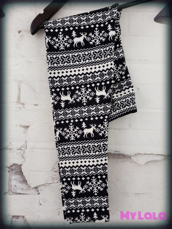 Merry ChristMoose Kids - My Lala Leggings, soft leggings, buttery soft leggings, one size leggings