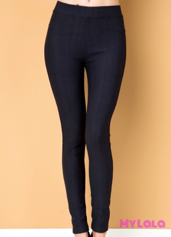1 One Size Jeggings - Size 3-12 (Charcoal)