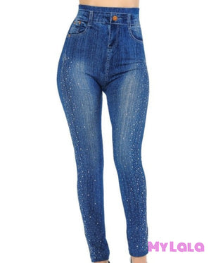 1 One Size Jeggings - Bedazzled (3-12)